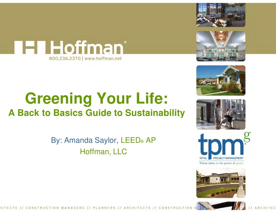 Greening Your Life