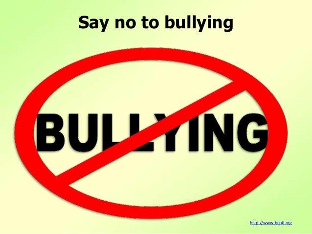 Say no to_bullying