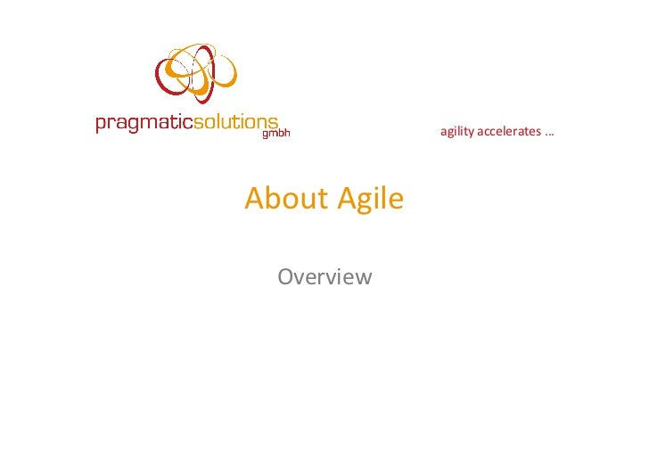 Introduction into Agile & Scrum