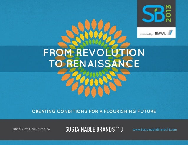 Sustainable Brands 2013 | Brochure