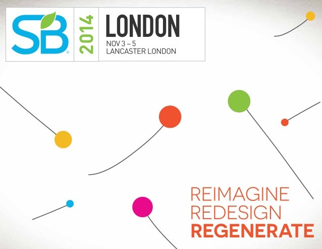 Sustainable Brands '14 London Brochure
