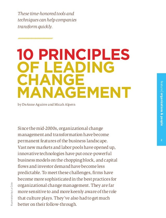 leading change when business is good 10 tips for leading through changes change is hard you are here to change the trajectory of the business or if needed, for the good of the project and.