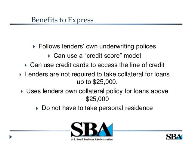 Which of these forms of financing requires the smallest minimum size of the borrower?