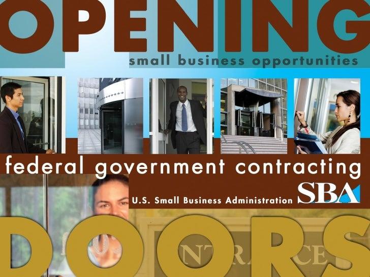 SBA Opening Doors