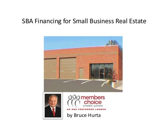how to get a small business loan for real estate