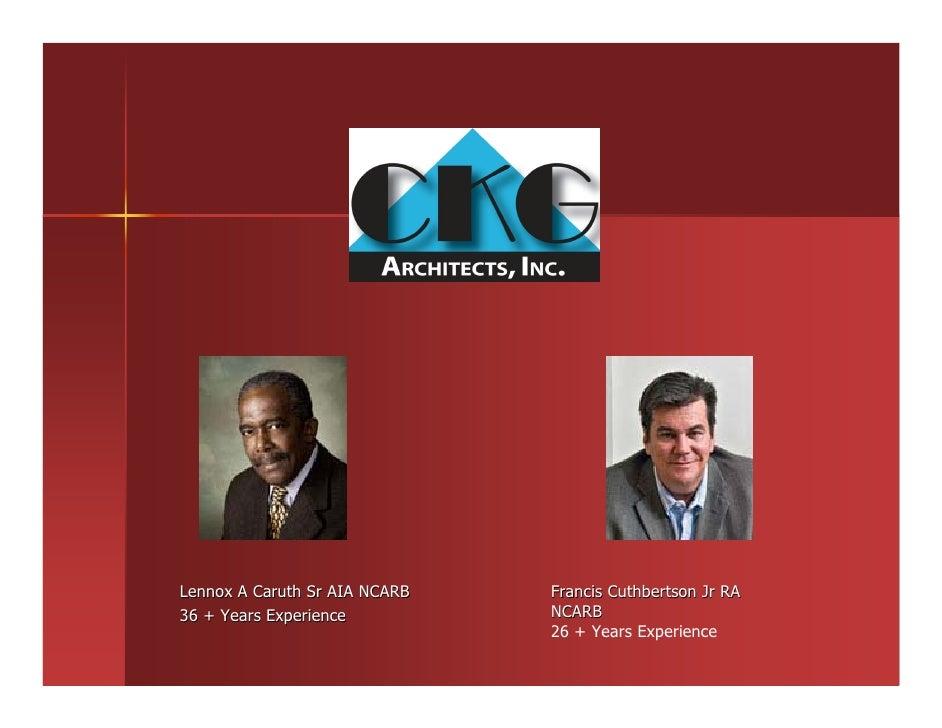 CKG Architects Porfolio