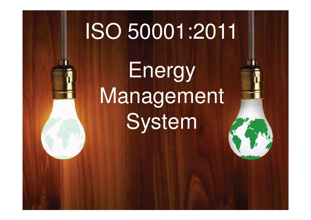 ISO 50001- Energy Management System