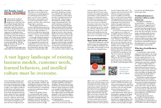 Social Business by Design excerpt - Social Business Journal Issue 1