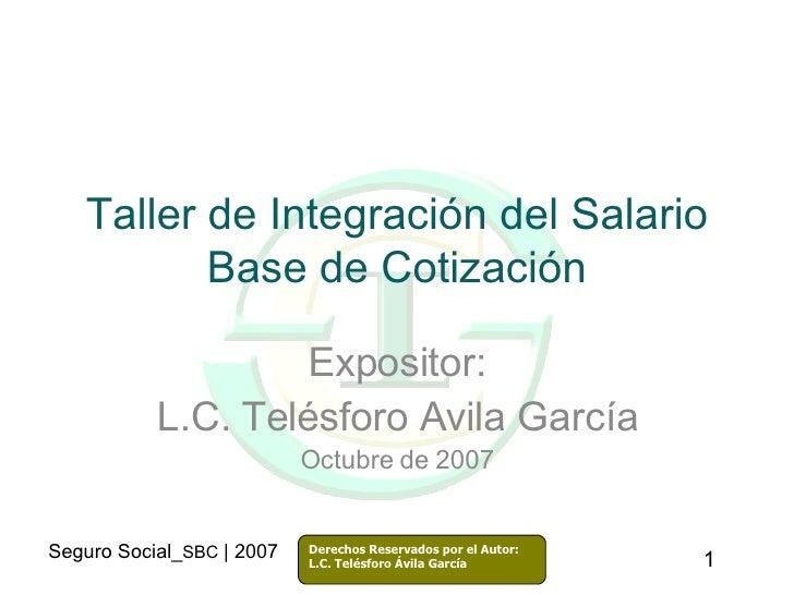 Sbc2007