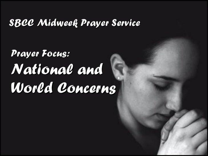 Midweek Prayer Service 021611
