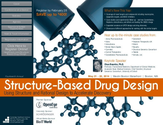 CHI's Structure-Based Drug Design Conference, May 21-22, 2014, Boston, MA