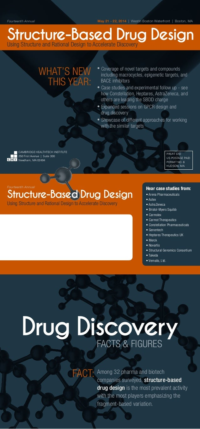 May 21 - 22, 2014 | Westin Boston Waterfront | Boston, MA  Fourteenth Annual  Structure-Based Drug Design Using Structure ...