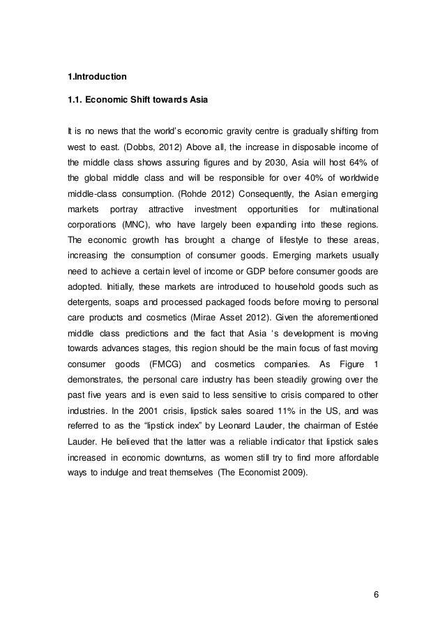 Comparative dissertation