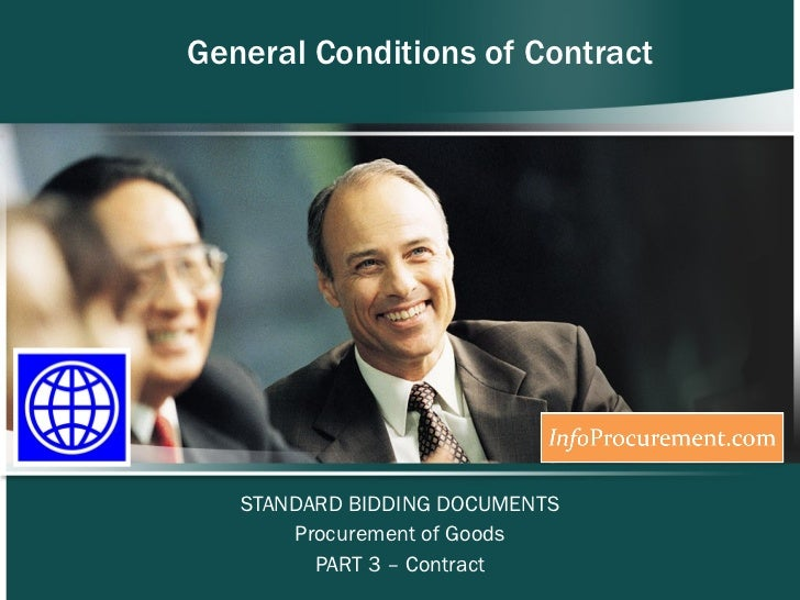 Sbd procurement of goods   section vii general conditions-1