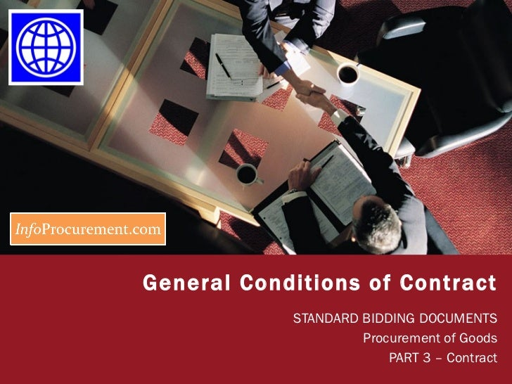 Sbd procurement of goods   section vii general conditions-2
