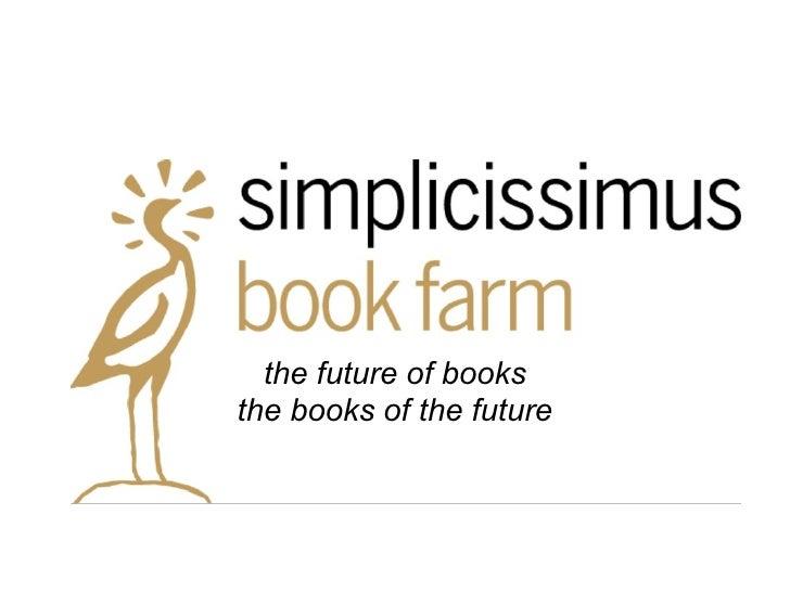the future of books the books of the future