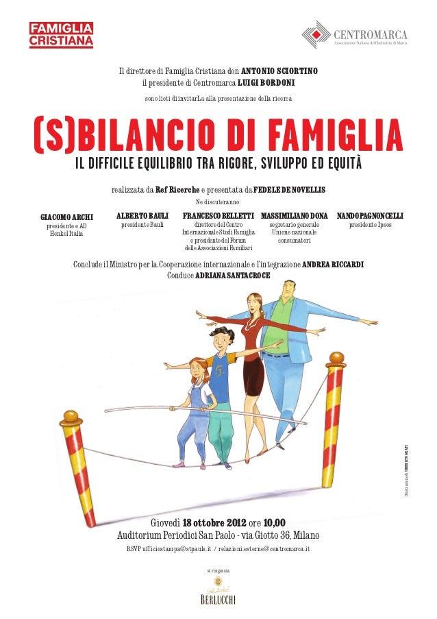 (S)bilancio di famiglia