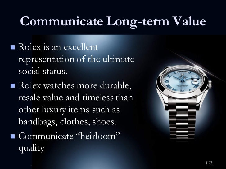 rolex target market Expert marketing advice on student questions: possitioning and target market of rolex watch posted by anonymous, question 28240.
