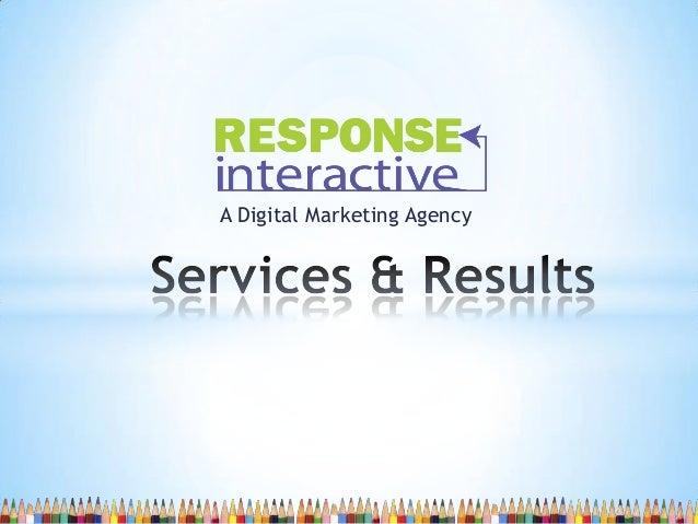 A Digital Marketing Agency