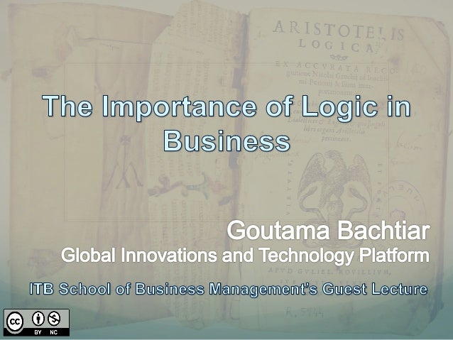 The Importance of Logic in Business
