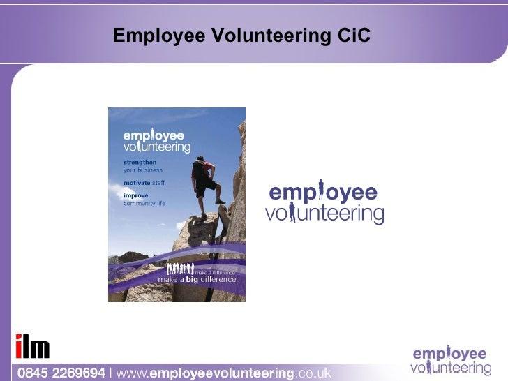 'Employee Volunteering' - Volunteering in Basingstoke