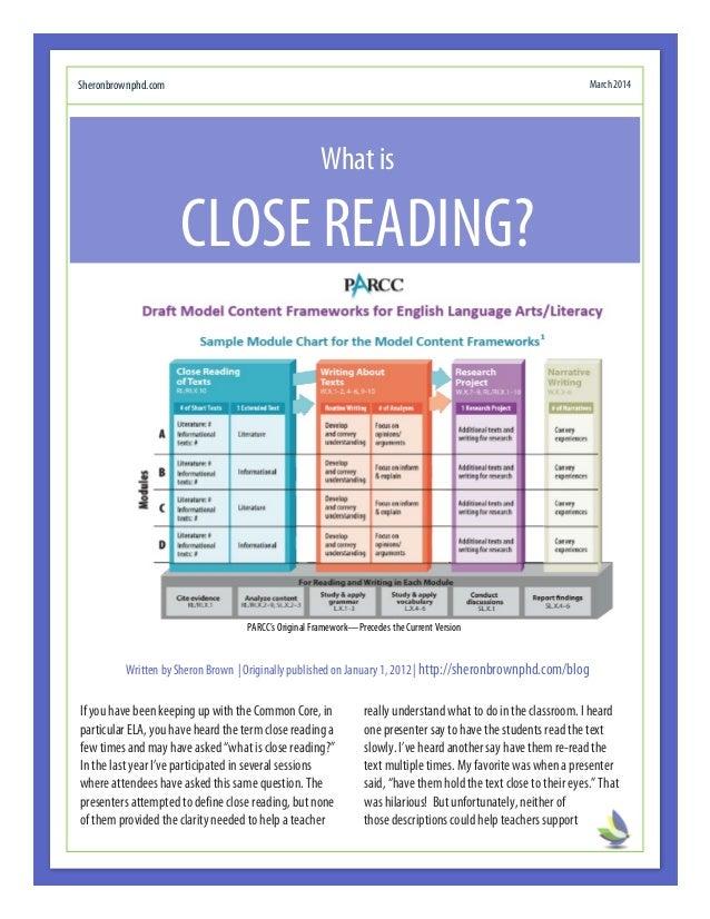 Close Reading Breakdown