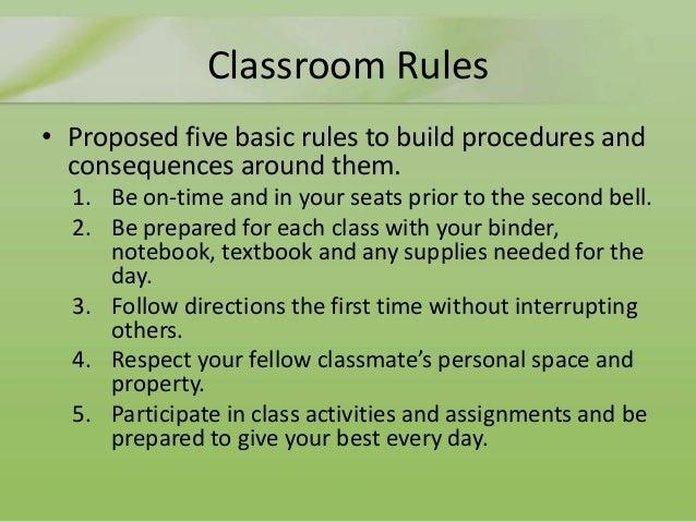 Classroom Design Should Follow Evidence ~ S bradford comprehensive classroom management plan outline
