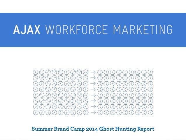 Summer Brand Camp 2014 Ghost Hunting Report