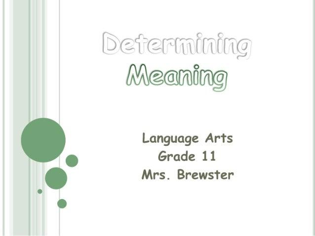 "Vbfiarmfnfmg M@@[7Bfi[70@  "" Language Arts .  Grade 11  ' Mrs.  Brewster"