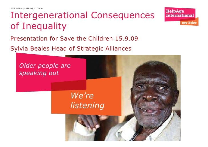 Intergenerational consequences of inequality