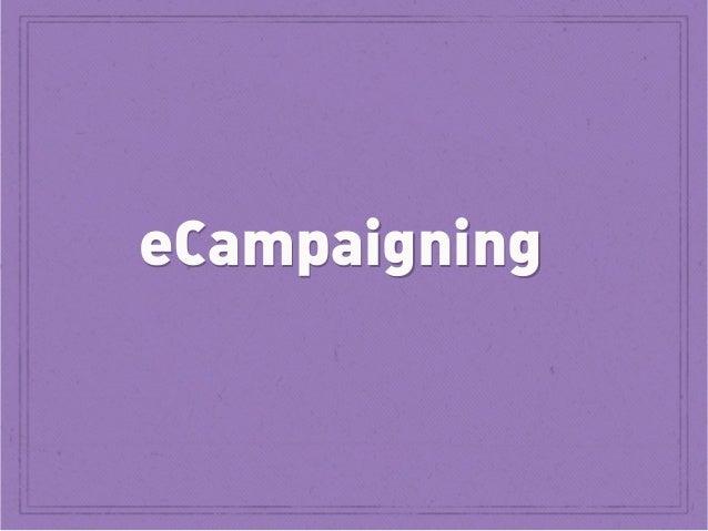 eCampaigning