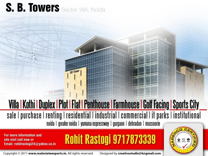 SB Towers (Office & IT Space in Noida)