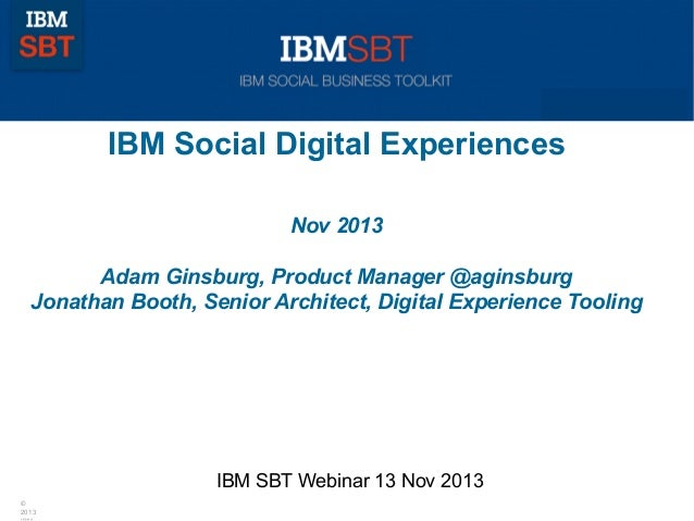 Technology to deliver Exceptional Social Digital Experiences