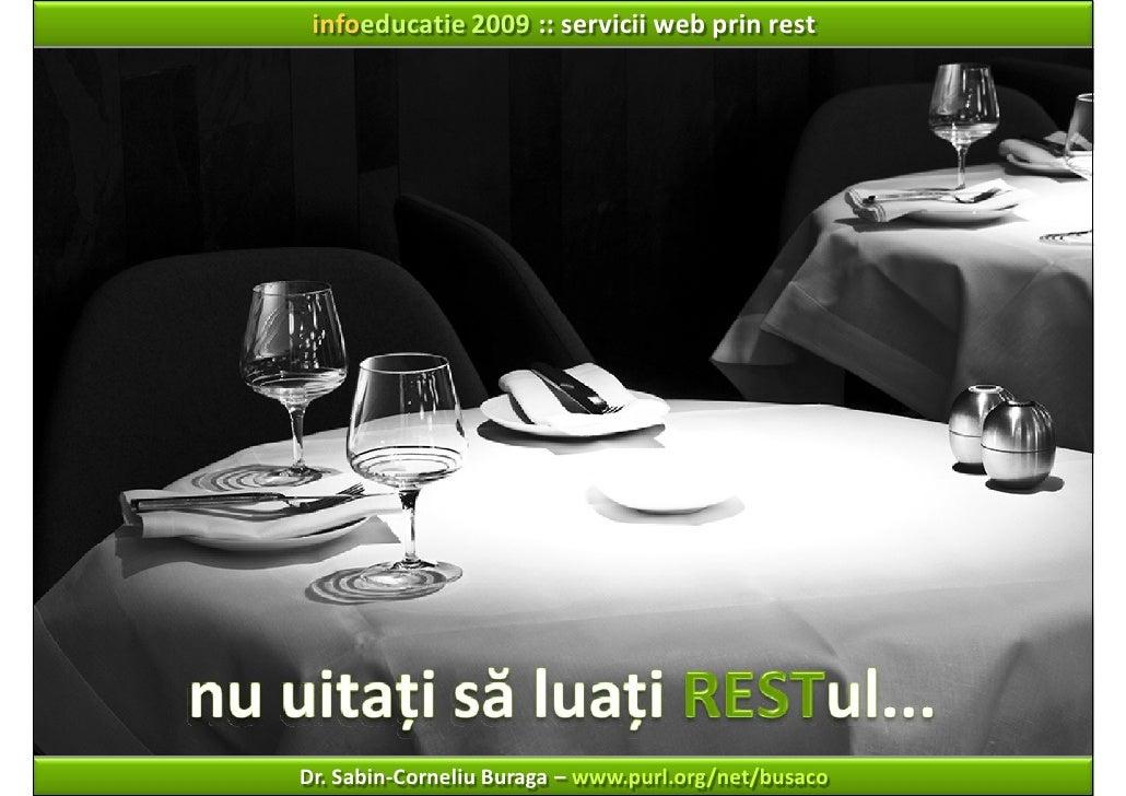 Servicii Web prin REST