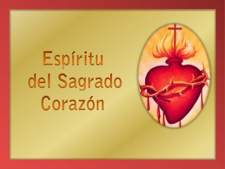 Espíritu<br /> del Sagrado<br />Corazón<br />