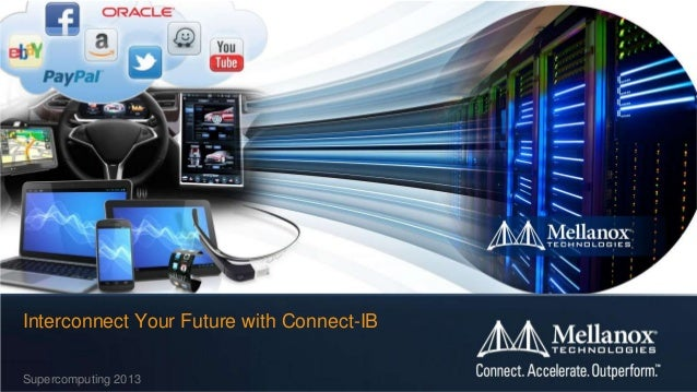 Interconnect Your Future with Connect-IB