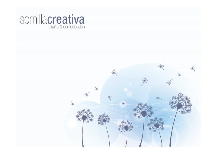 Quienes somosSemilla Creativa te brinda soluciones en Diseño, Comunicación y Marketing.Somos un equipo de profesionales de...