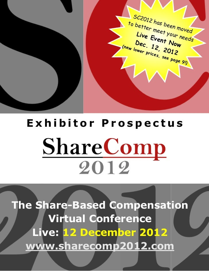 ShareComp 2012 prospectus updated 201201 (sc2012 / vcpevents)