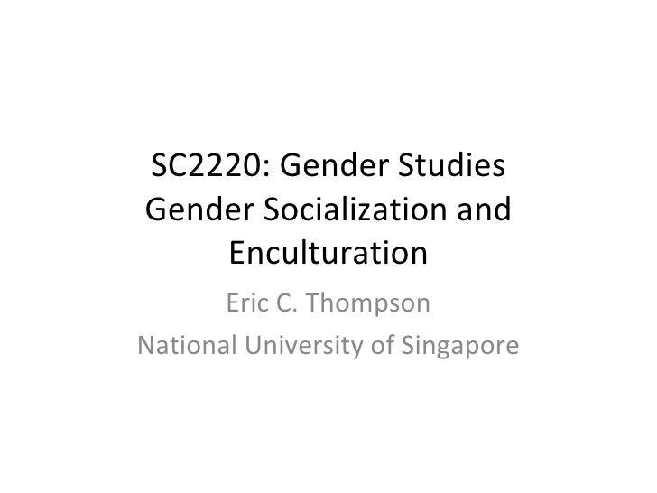 Sc2220 Lecture 5 2009