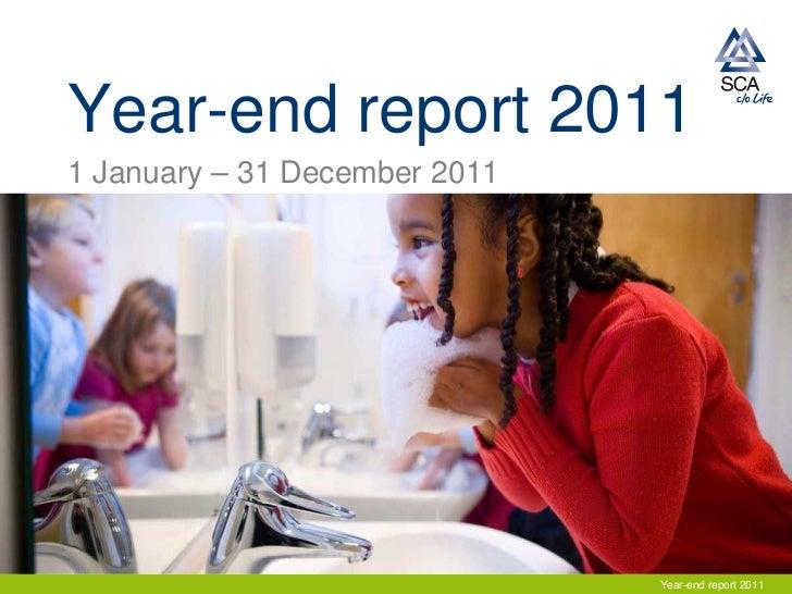 SCA presentation year-end report Q4 2011