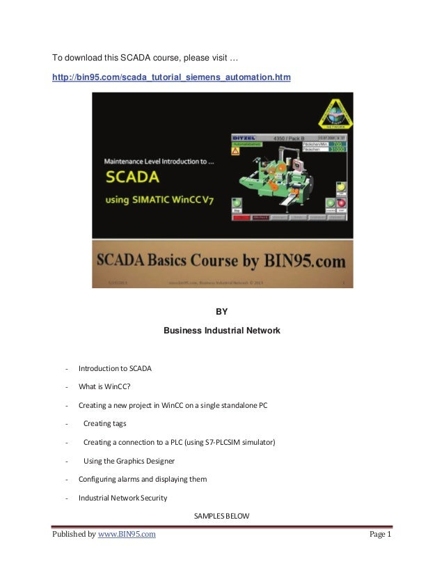 Scada Training Powerpoint samples
