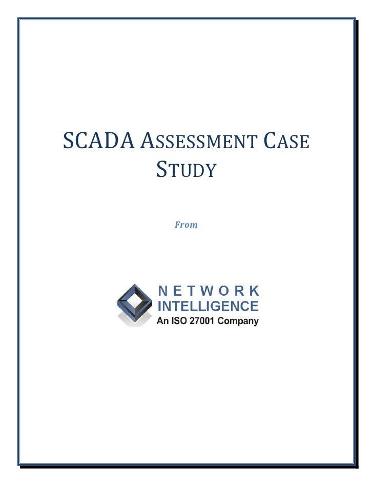Scada assessment case study