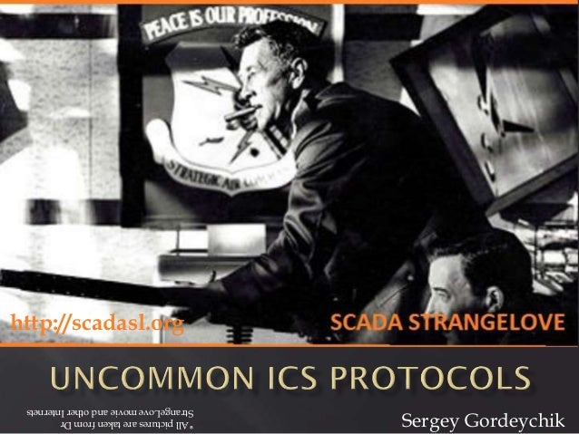 SCADA StrangeLove Kaspersky SAS 2014 - LHC