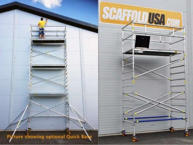 aluminum scaffolding  u0026 portable mobile scaffolds tower