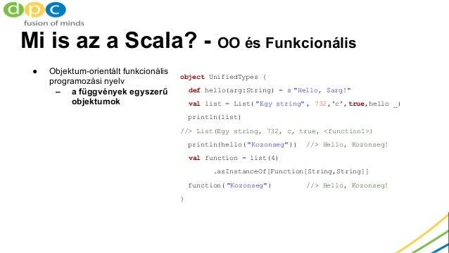 Két Java fejlesztő első Scala projektje