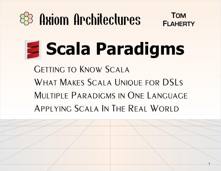Scala Paradigms