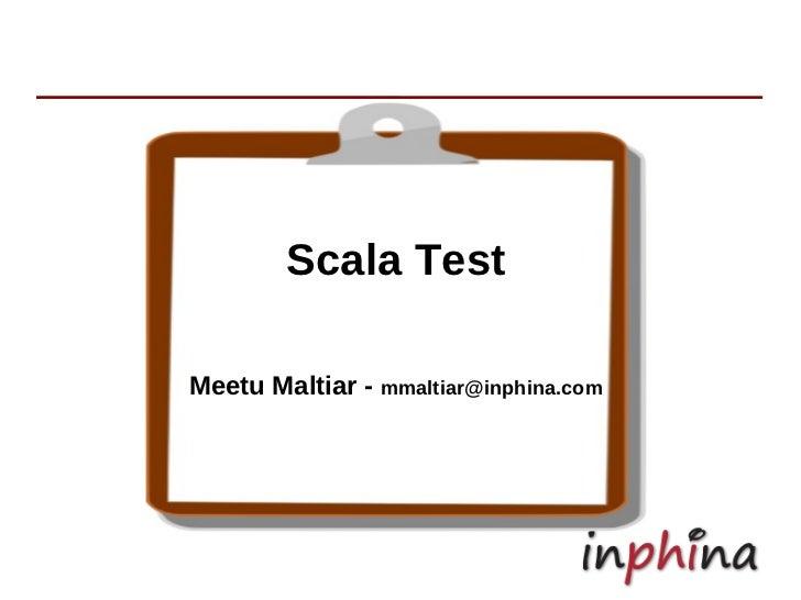 Scala test