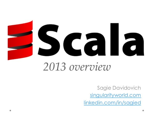 Scala 2013 review