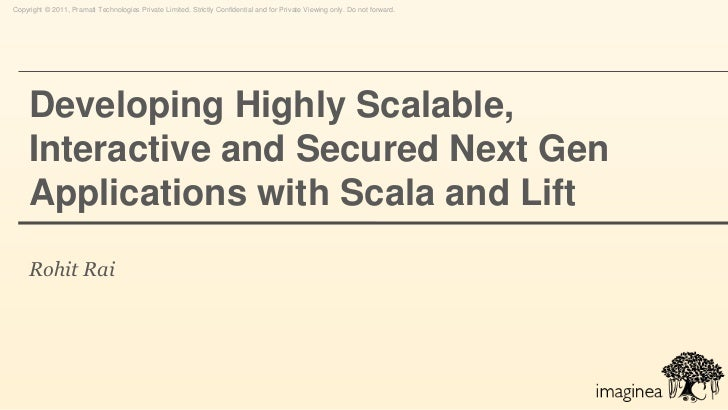 Scala and lift