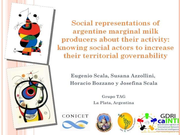 Eugenio Scala, Susana Azzollini,  Horacio Bozzano y Josefina Scala Grupo TAG La Plata, Argentina